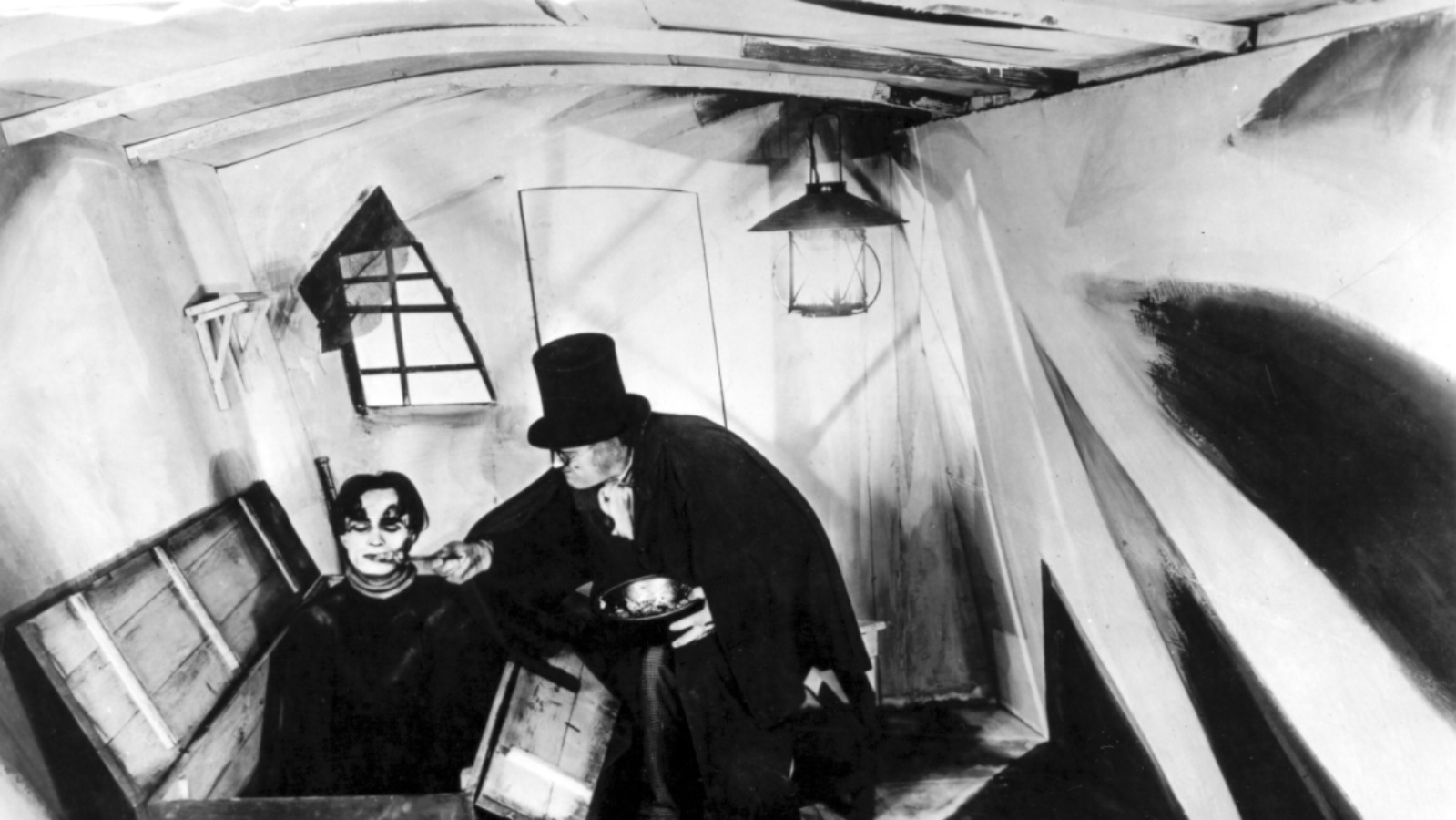 #25) The Cabinet of Dr. Caligari - (1920 - dir. Robert Wiene)
