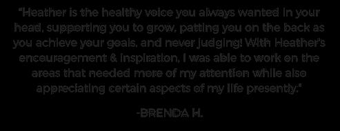 Brenda Testimonial