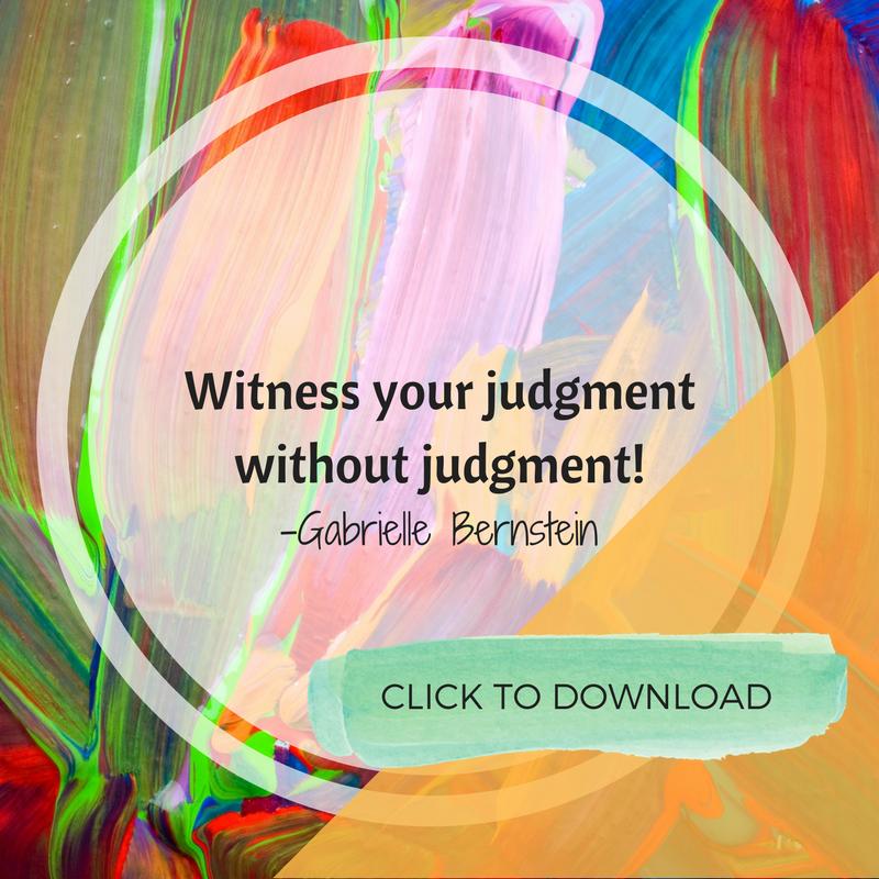 Witness judgment