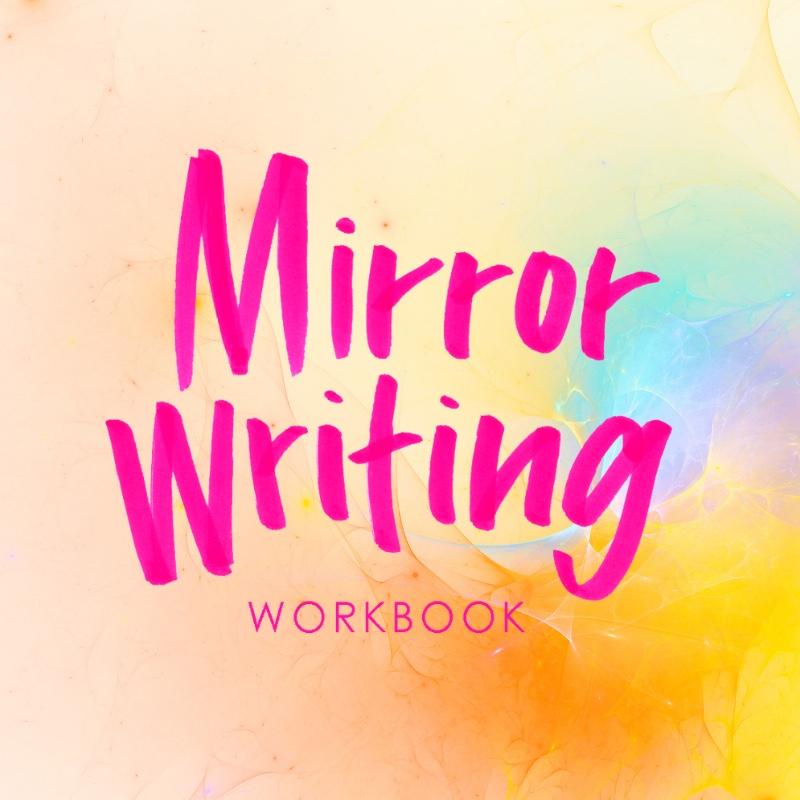 Mirror Writing Workbook