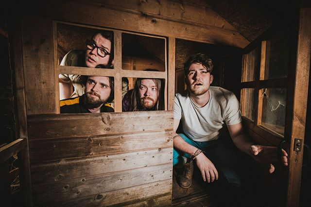 """We bring you our headline band for tomorrow - @ofeliaband """"We are a four-piece indie-folk band from south wales.  Our folk instrumentation, rhythmic guitars, complex mandolin and solid bass focuses the variety of influences in the song writing into exciting and honest modern folk songs.  Our live performance is as intense as it is playful and we are excited to share that playfulness with the GO Rugby family on Saturday!"""" Head to their Page to see more."""