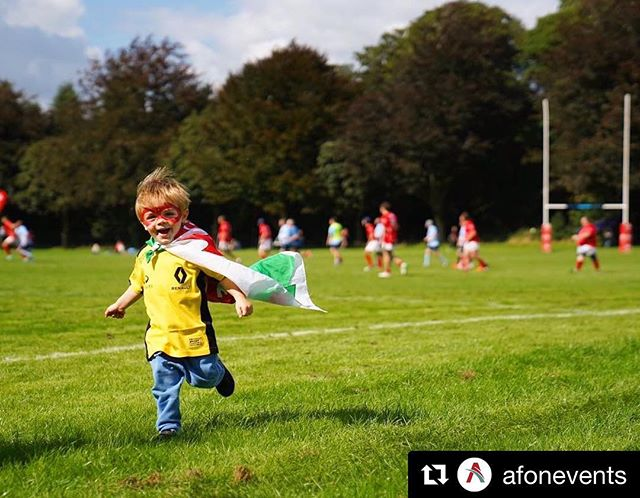 #sportforlife -  #Repost @afonevents ・ ・ ・  We've had a busy few weeks at Afon producing and being part of some fantastic events. We've also got some exciting news to announce soon on future projects.  In the meantime, whilst we collate some of the cracking content from our photographers and videographers, here's a shot from @aaronrolph during our @gorugbyuk Festival in Cardiff - We think it perfectly reflects how we feel about our first big Afon summer!  Also, we wish we looked as cool as Ioan does in a cape.  #responsibleevents