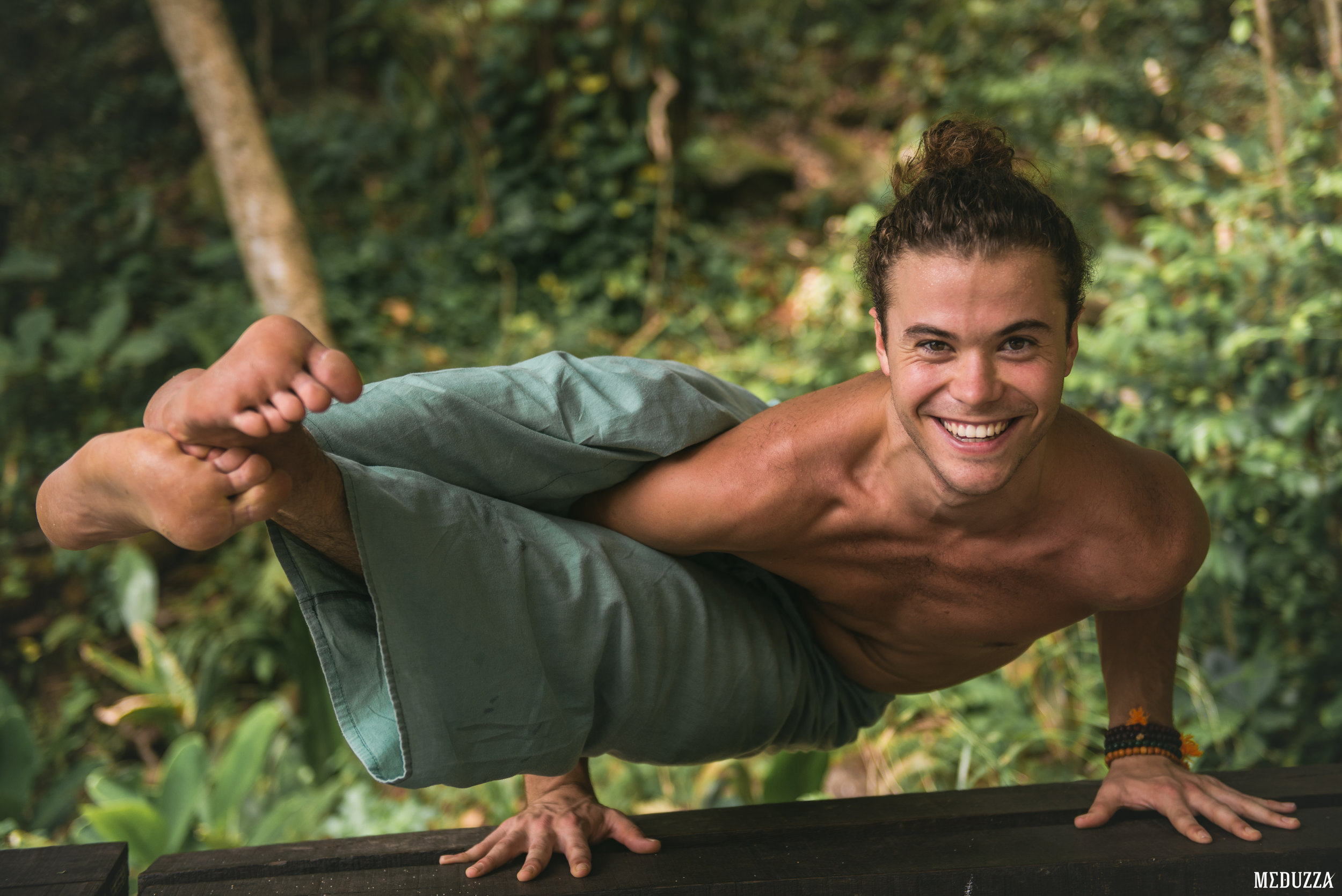 Meet Christian Coelho - To say we are excited to have Christian Coelho lead his first retreat in Europe or Africa is an understatement! Hailing from Rio de Janeiro where he owns the Casa 111 Yoga Studio, Christian's incredibly humble, genuine, and warm energy gained him a loyal following.Initially trained in Ashtanga & Rocket Vinyasa Yoga, Christian has found inspiration in the slower and more intuitive style of Forrest Yoga. Christian is also the founder of a Cuban salsa group, a massage therapist, and recently graduated with a Masters degree in Yoga History & Philosophy.