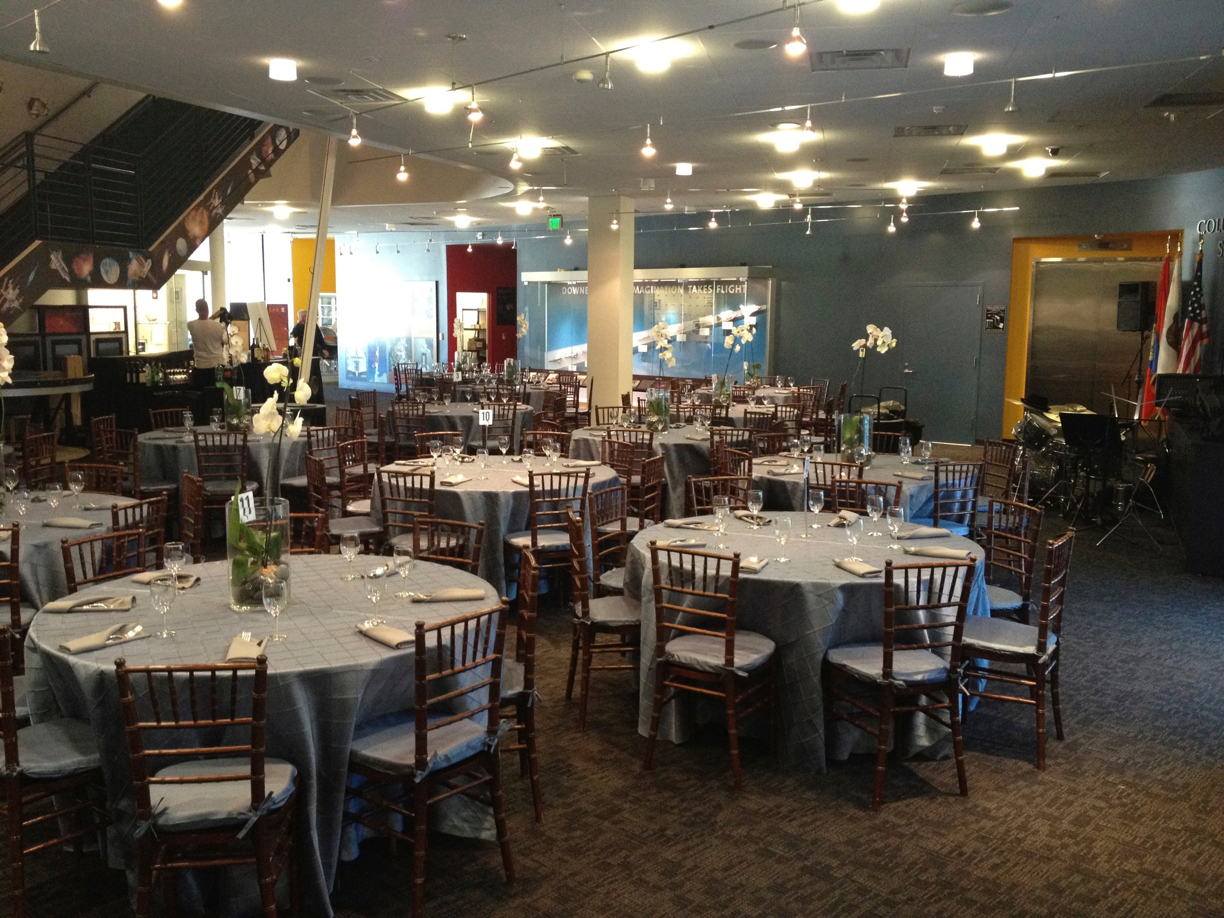 1st Floor - banquet seating