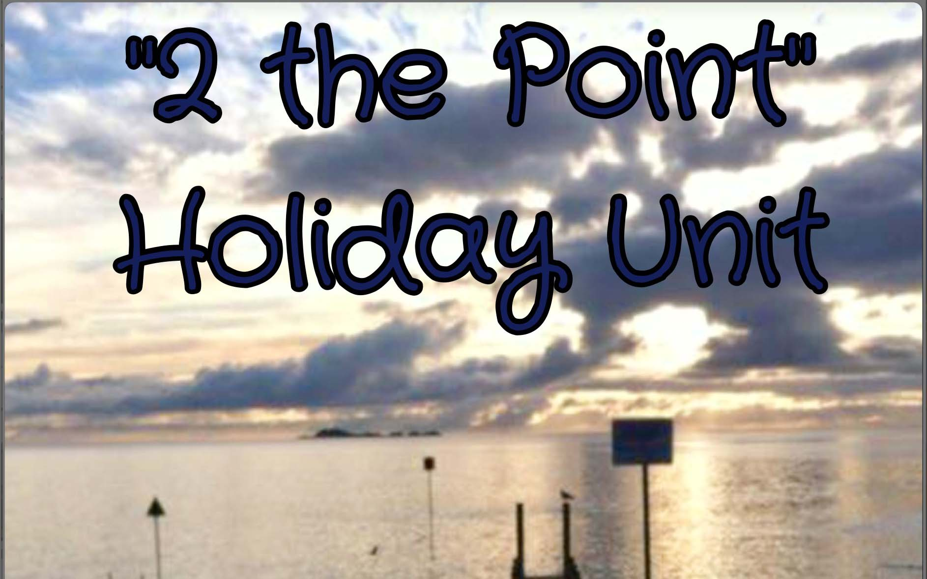 2 THE POINT HOLIDAY UNIT  Features: Quiet location with sea views it makes an ideal get away, 2 Bedroom Self Contained Unit (sleeps 5 comfortably), 80m to Boat Ramp and to the start of National Parks walks, Pet friendly and wheelchair access. Contact Lyndall p: 0438110014 or  0364451634