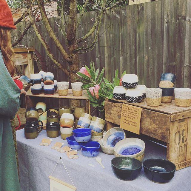 Lovely pottery #handmadesistersbeach #sistersbeach #sistersbeachcommunity #tasmaniasnorthwest