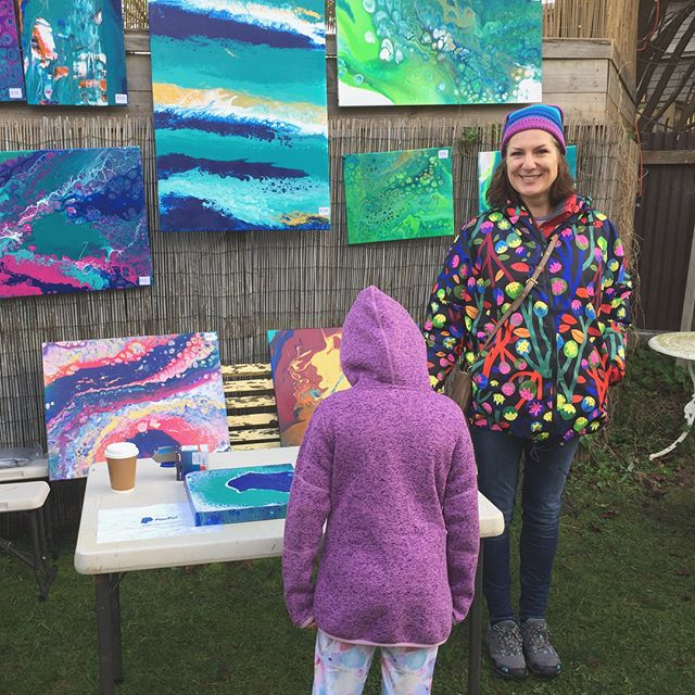 Beautiful creations by Jo at the #sistersbeachmarket #sistersbeachcommunity #tasmaniasnorthwest