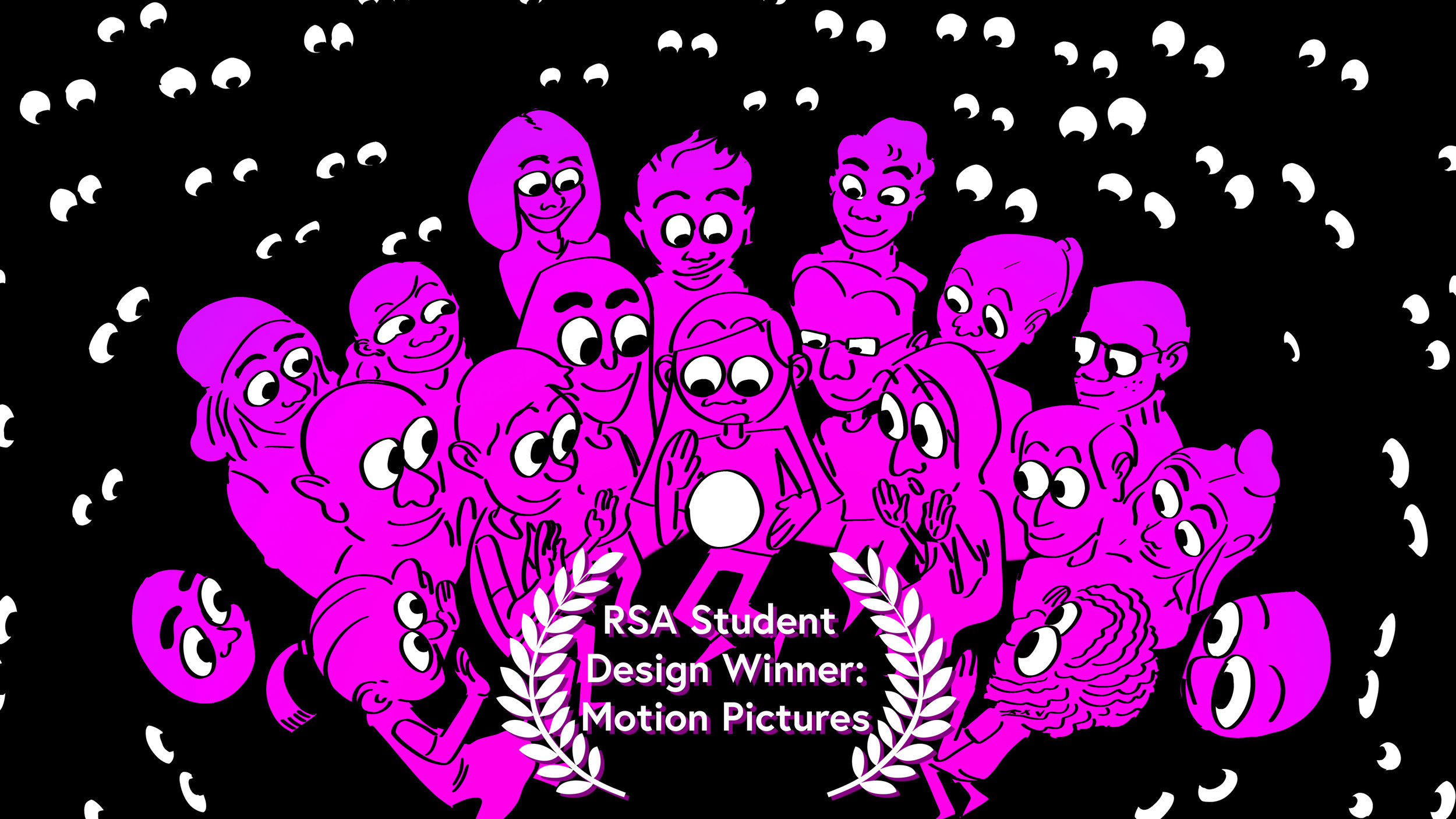 The Future is in Your Hands Now (2019) - Role: Director, Producer, Storyboard Artist, Editor, Art Director, Layout, 2D Animator, and Compositor.RSA Student Design Competition 2019 Winning Entry