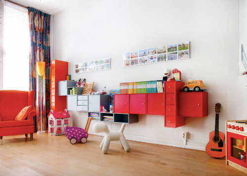 Toddler friendly vacation rental in Amsterdam  with kids' playroom, for rent on Kid and Coe.