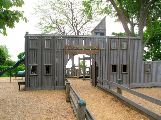 Wellington Ontario Prince Edward County PEC kid-friendly Adventure Playground Things to do with Kids in PEC