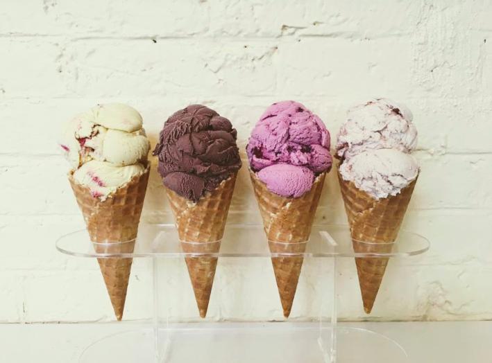 Best ice cream in PEC Prince Edward County Ontario Kids Toddler Restaurants
