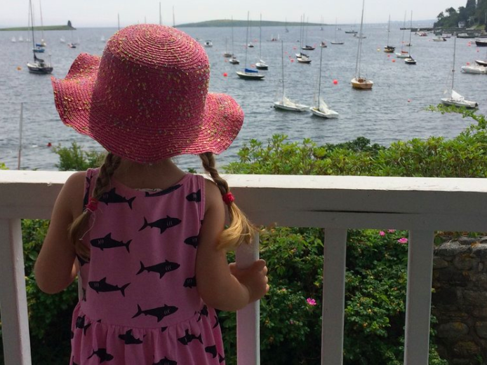 Your toddler can explore Mahone Bay like a local thanks to local Halifax blog  Raising Haligonians . Image credit: Raising Haligonians