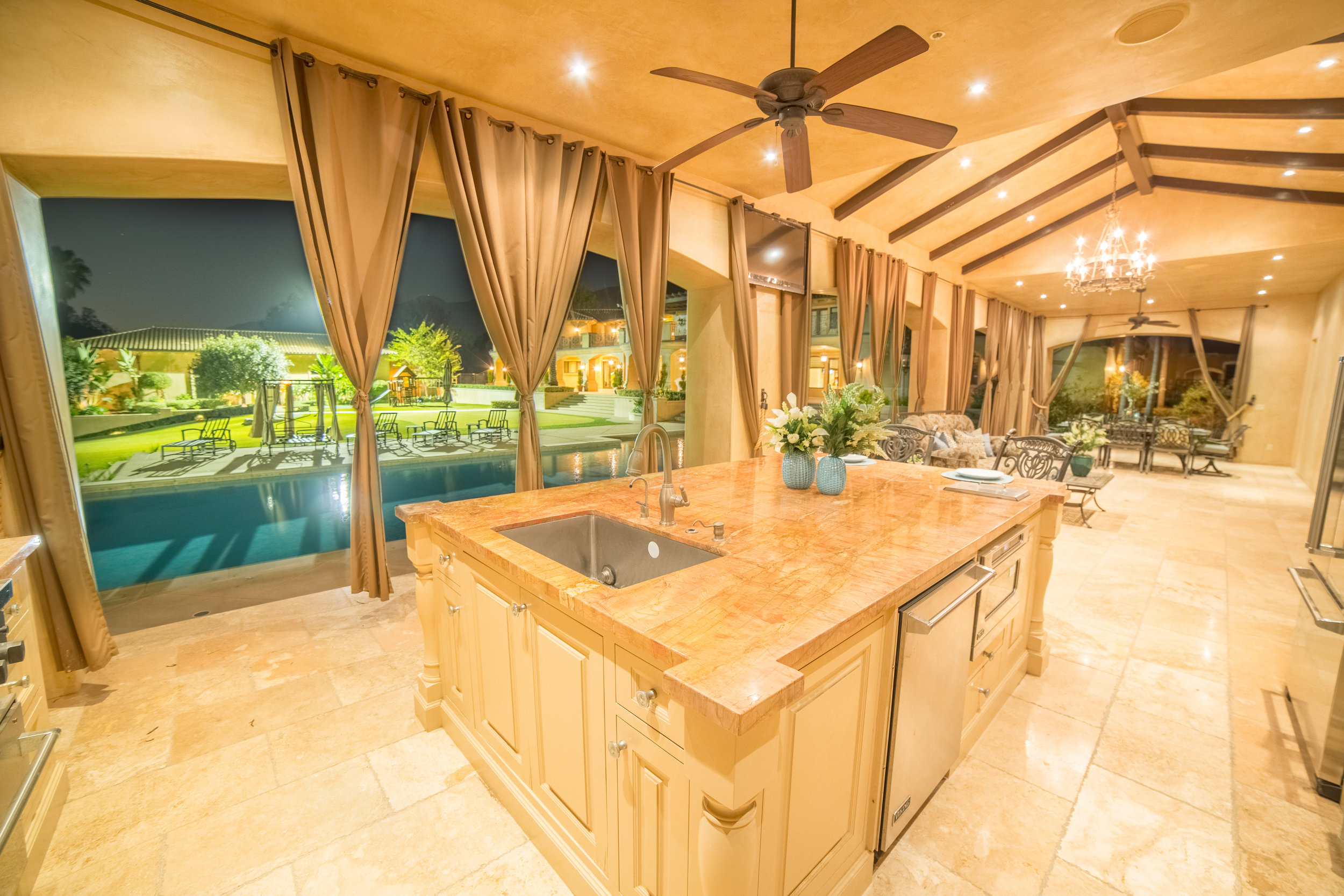Real Estate Photography of Pool