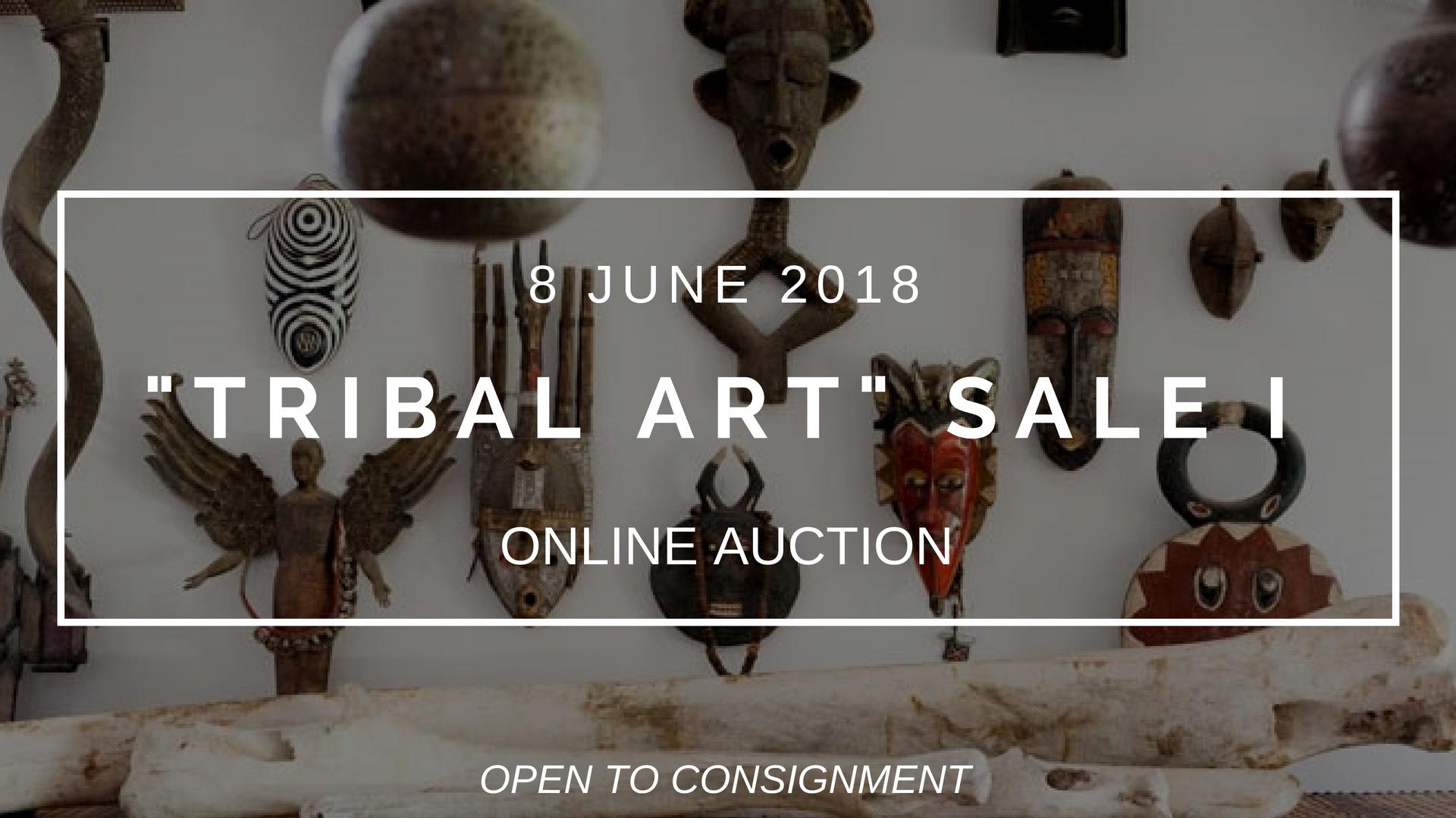 """2018年6月8:""""TRIBAL ART"""