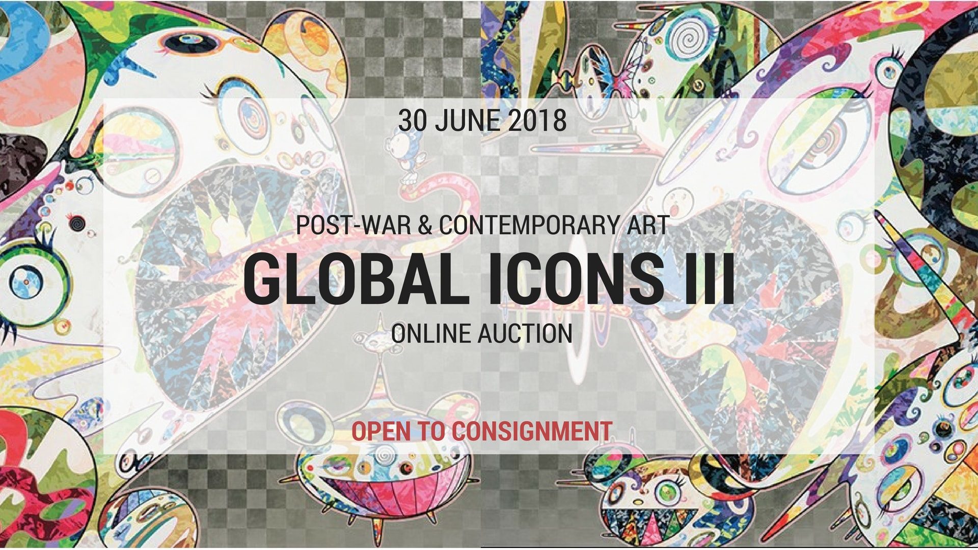 """2018年6月30:""""GLOBAL ICONS"""