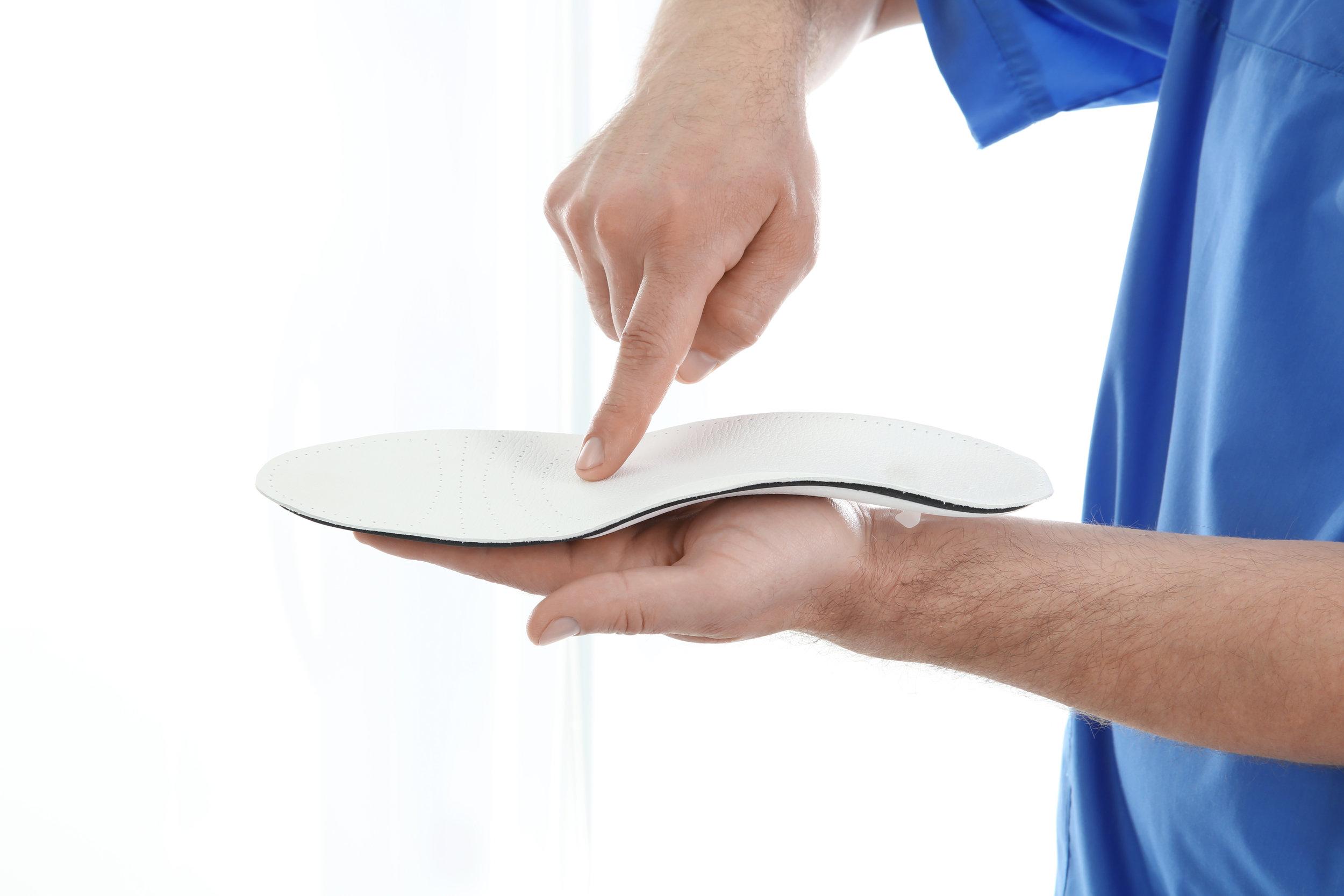 Custom Foot Orthotics -