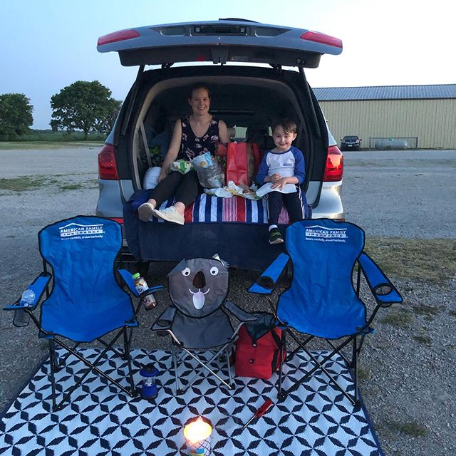 Family night at the drive in! #americanfamilyinsurance #insuranceagent