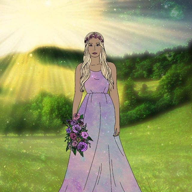 This month we chose to honor the goddes Eostre. She has a lot of history of controversy. Did she really exist? What do you think?  Whatever the verdict is, what she represents is true. Renewal, fertility, spring, healing, and the dawn of a new day/season. 💜💜💜 #eostre