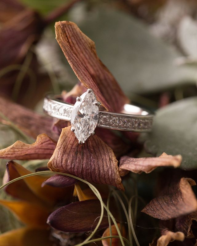 I love you for all that you are, all that you have been and all your yet to be  #engagmentring #marquisediamond #diamondsareforever