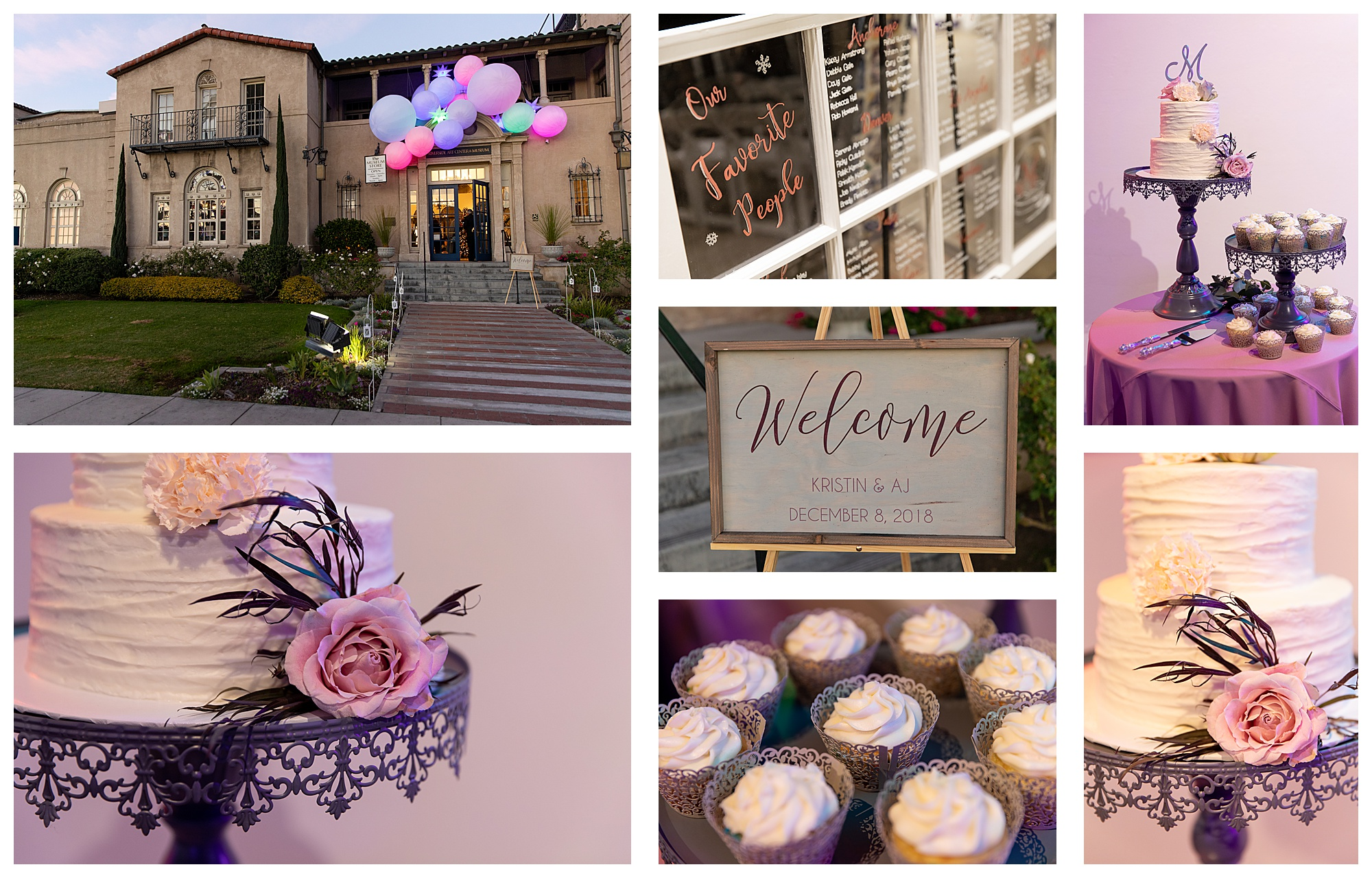 Wedding Photos Winter Wedding Riverside California