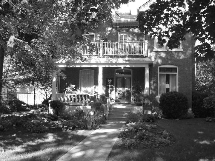 EST. 1891 - Jeremiah Duggan, a prominent merchant, owned and operated the largest department store this side of Toronto, J.A. Duggan Ltd, from 1883 until his death in 1936. He built this house in 1891 and it remains today as a heritage home.