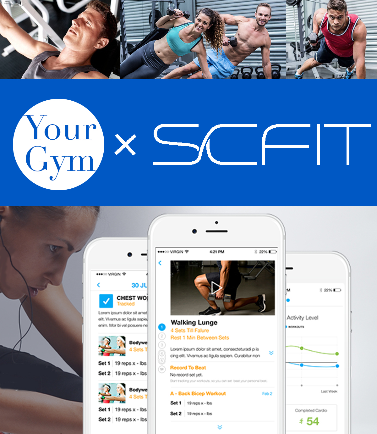 ADD ON TO YOUR MEMBER SERVICES - GIVE YOUR MEMBERS THE OPTION OF ADDING VIRTUAL TRAINING TO THEIR GYM MEMBERSHIP! OUR SYSTEMS HAVE BEEN PROVEN TO PROVIDE CLIENTS WITH GUIDANCE, ACCOUNTABILITY AND SUPPORT. THIS IS A GREAT TOOL FOR MEMBERS WHO FEEL LOST IN THE GYM AND DON'T HAVE ACCESS TO THE LUXURY OF IN-PERSON TRAINING. VIRTUAL TRAINING BUILDS RELATIONSHIPS BETWEEN TRAINERS AT YOUR GYM AND IT'S VIRTUAL MEMBERS. CLIENTS ARE 100% MORE LIKELY TO TRAIN IN PERSON AFTER VIRTUAL TRAINING VS. NOT AT ALL.