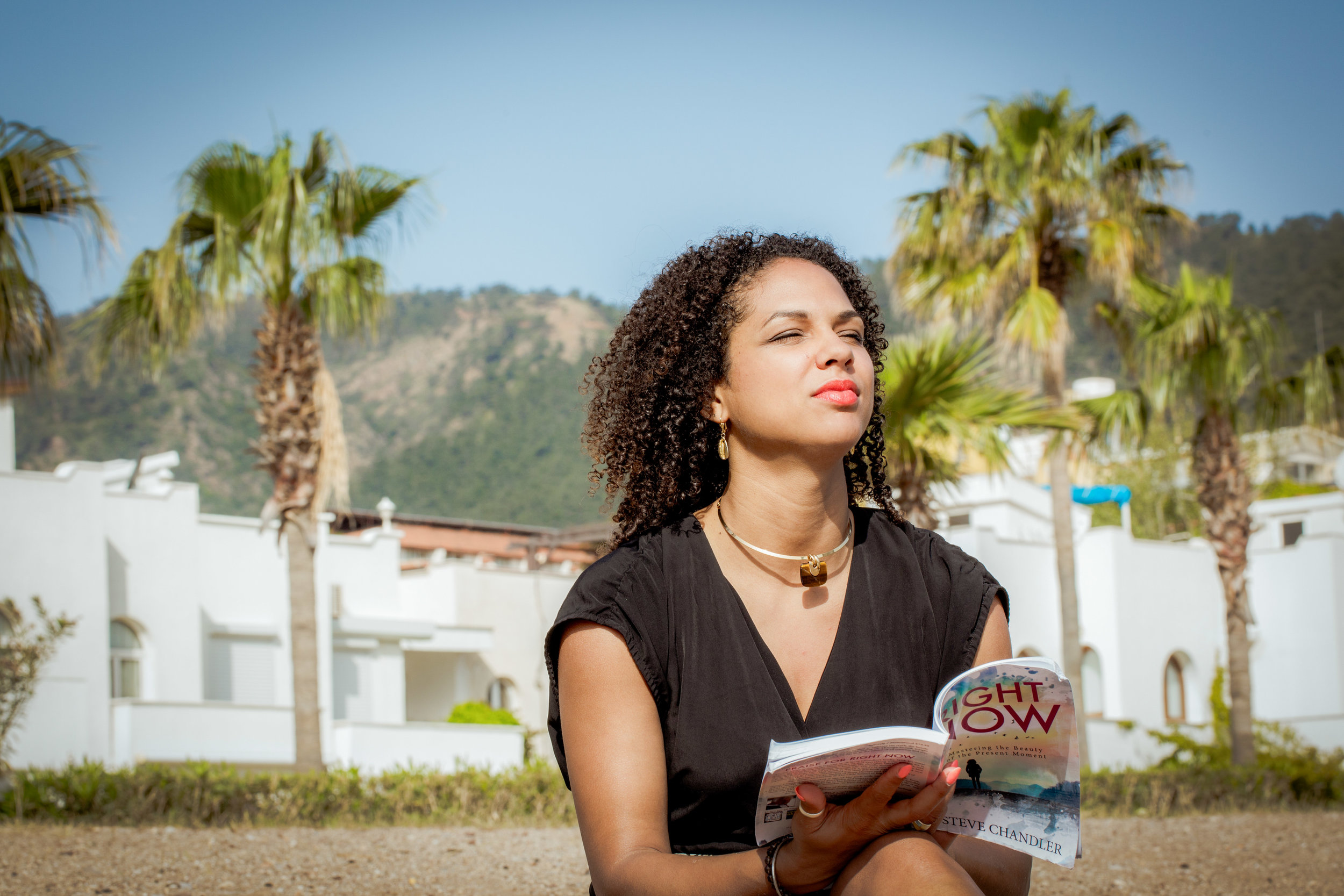 Nancy with book.JPG