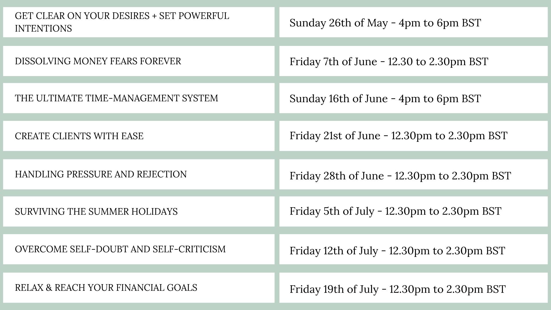 Prosperous mums programme schedule.png