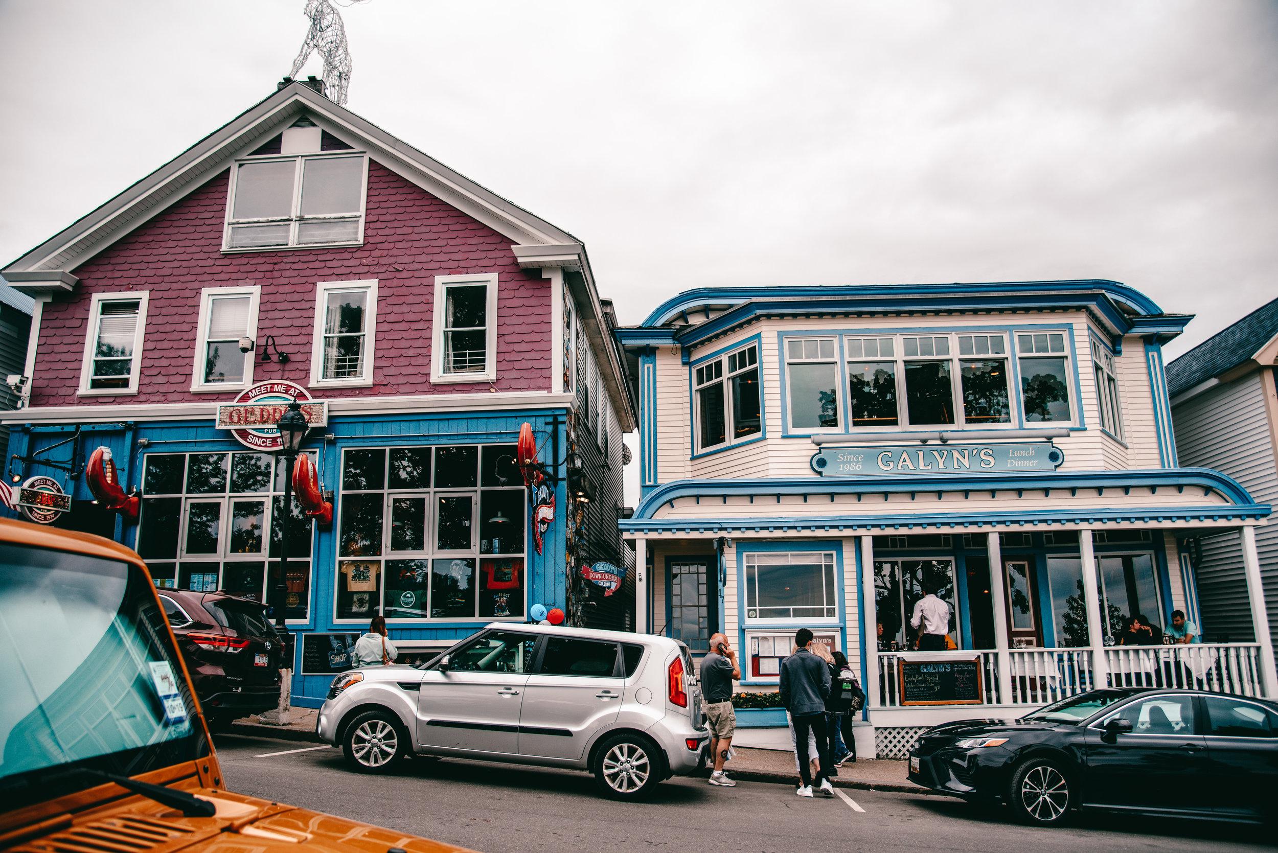 Bar Harbor town