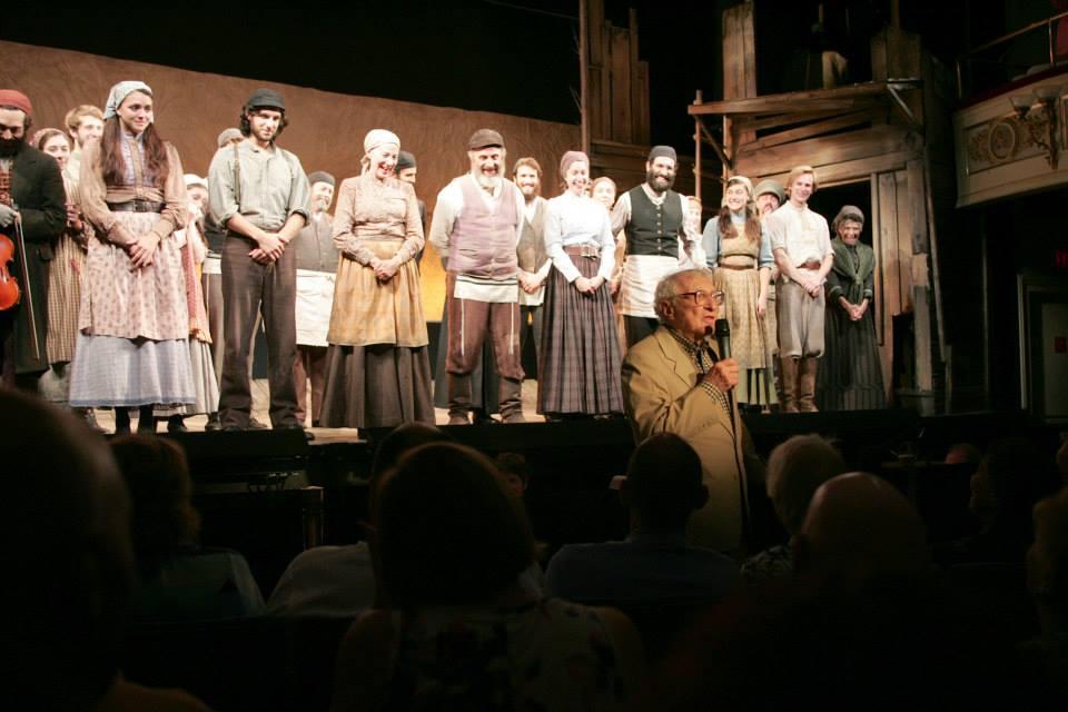 Sheldon Harnick praises Goodspeed's 50th Anniversary Production