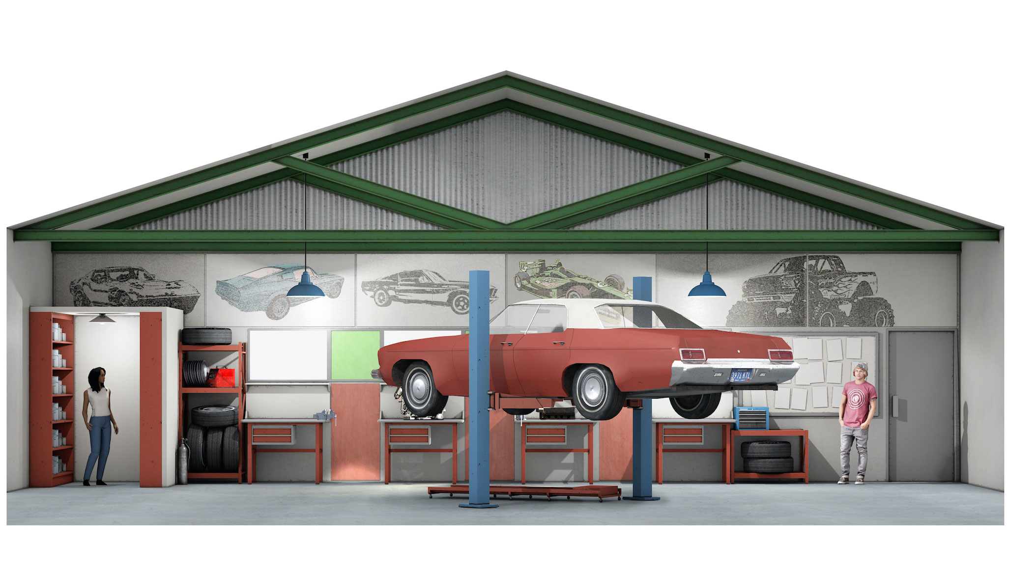 Summer Cove High |  Autoshop