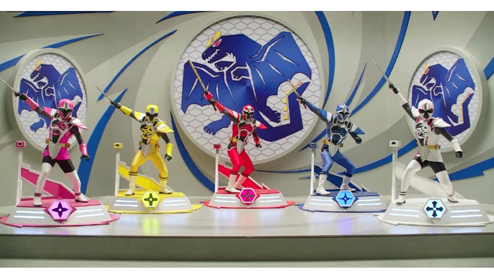 Ninja Steel - Dragonzord set image