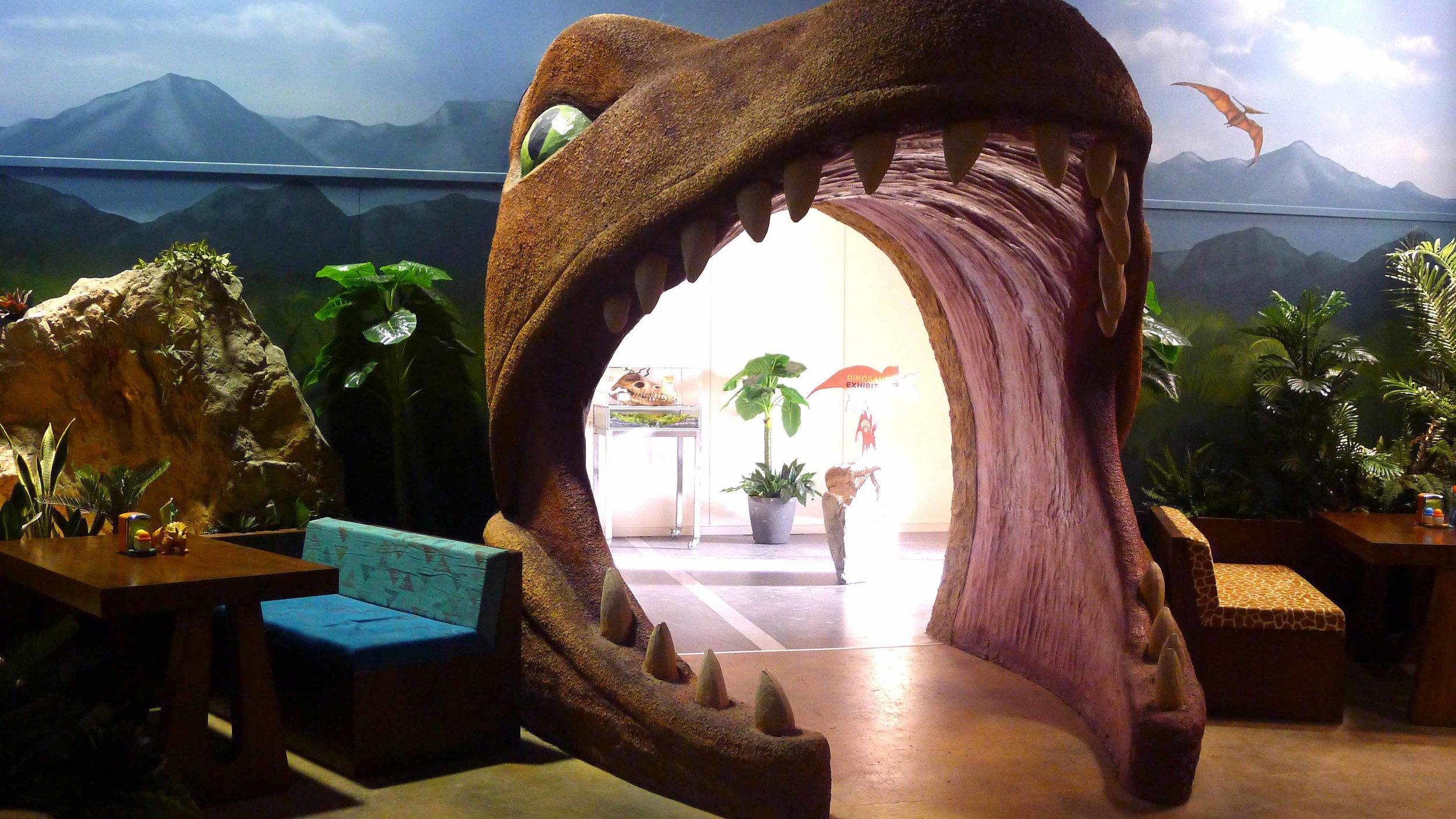 Dino Bite Cafe entrance - Set image