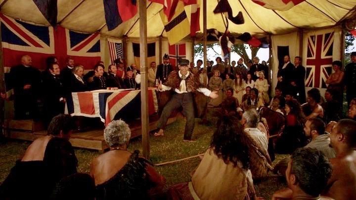 The Treaty tent