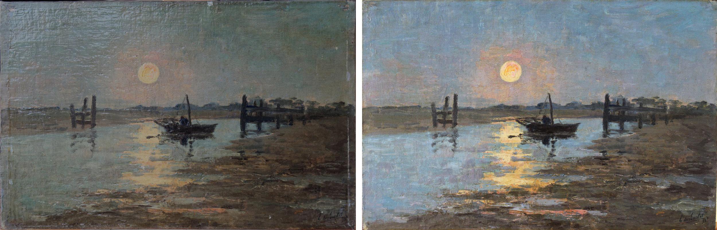 Conservation et restauration de tableaux et peintures sur bois