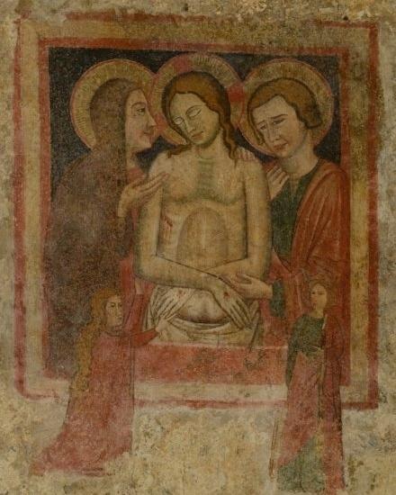 Restauration de fresques, Italie, Naples, Castello Aragonese, Istituto Europeo del restauro.jpg