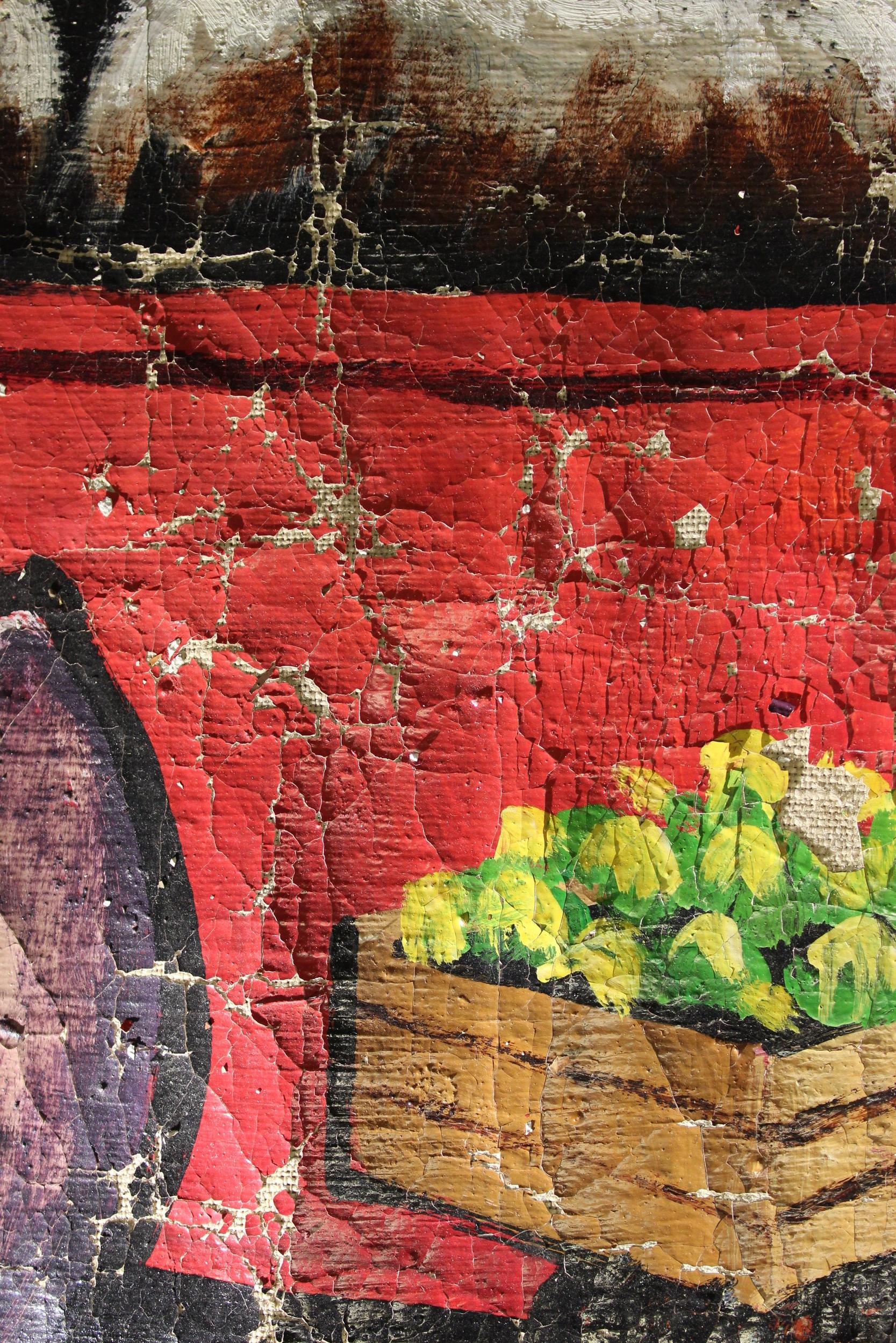 Moké, peinture sur toile, art contemporain