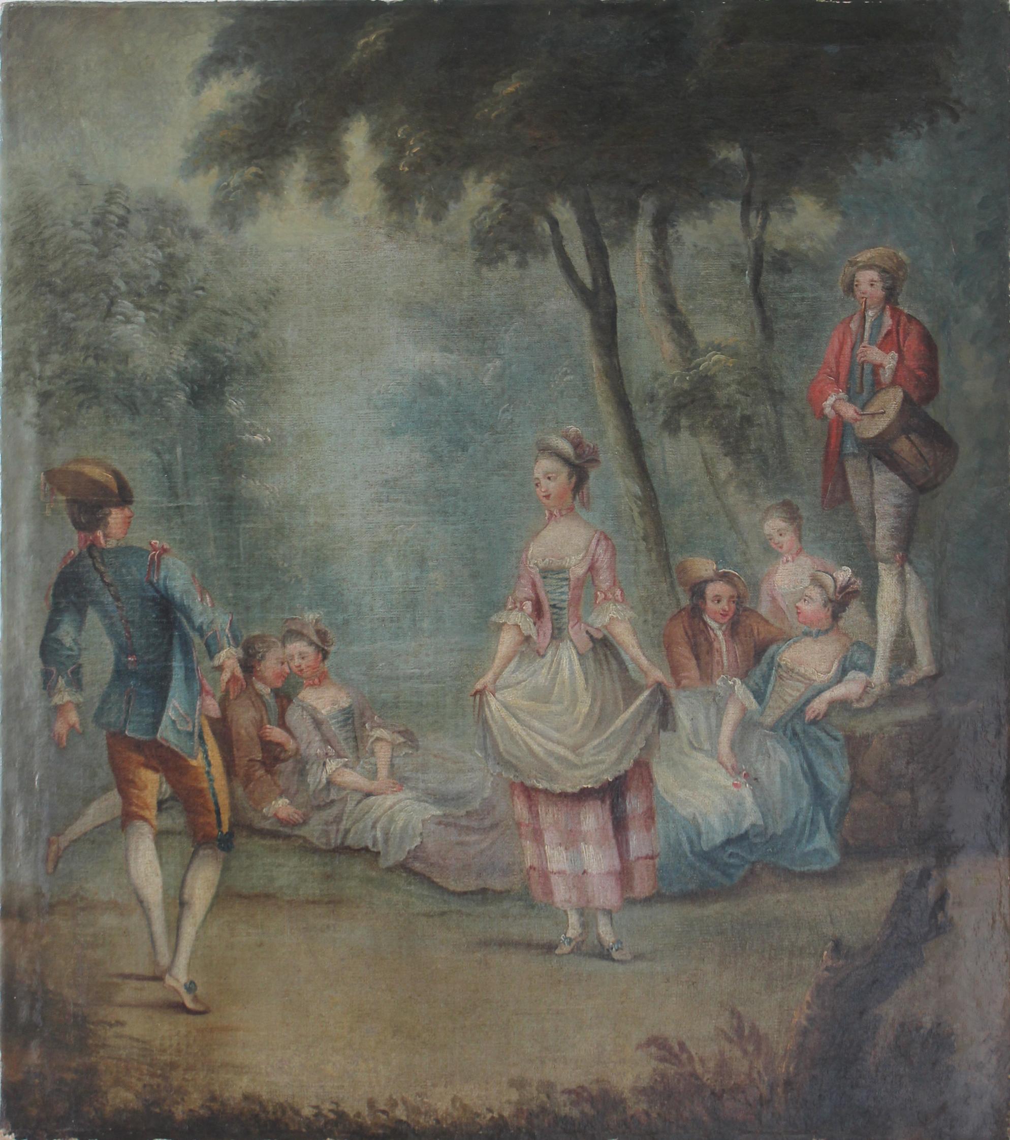 Ecole française, XVIIIe siècle. Conservation et restauration de tableaux et peintures sur toile, Bruxelles.jpg