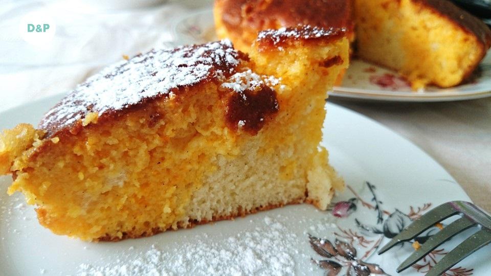 gâteau au yaourt - mandarine vanille