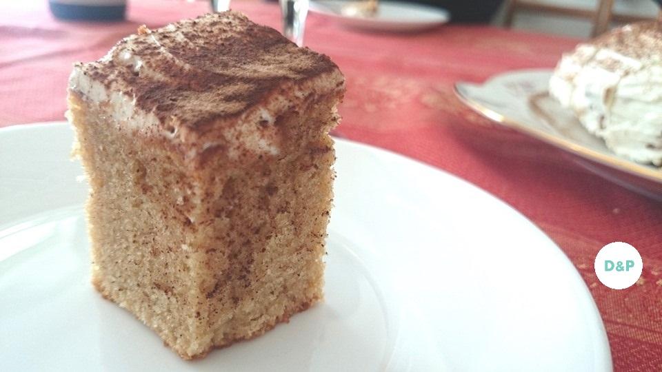 Gâteau au yaourt - cappuccino