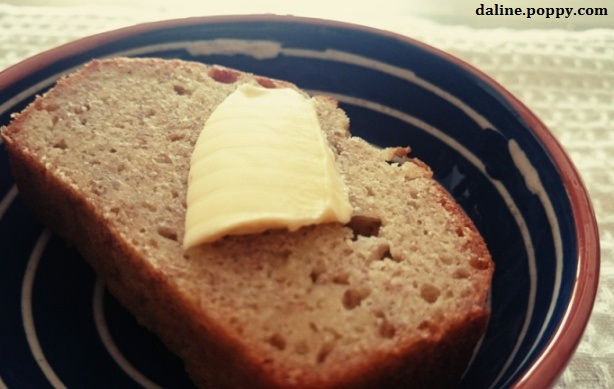 banana bread Beurré