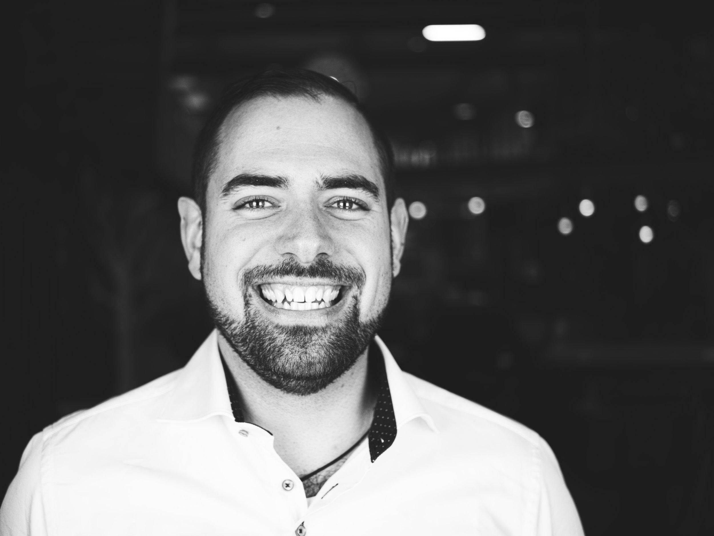 Jordi de Vos - Founder - Jordi is an early blockchain aficionado with a business background,