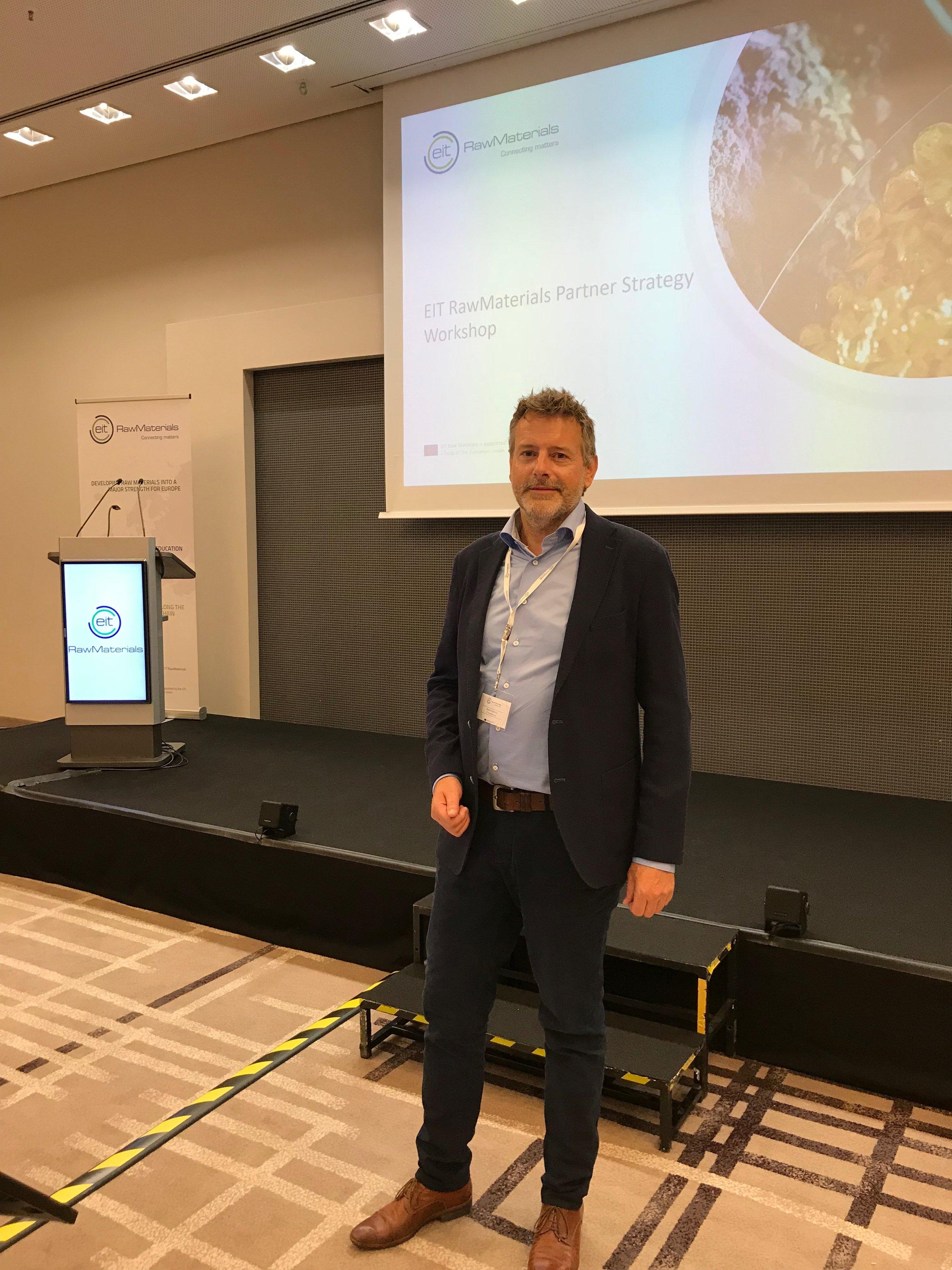 Beant Dijkstra, Business Developer at EIT RawMaterials