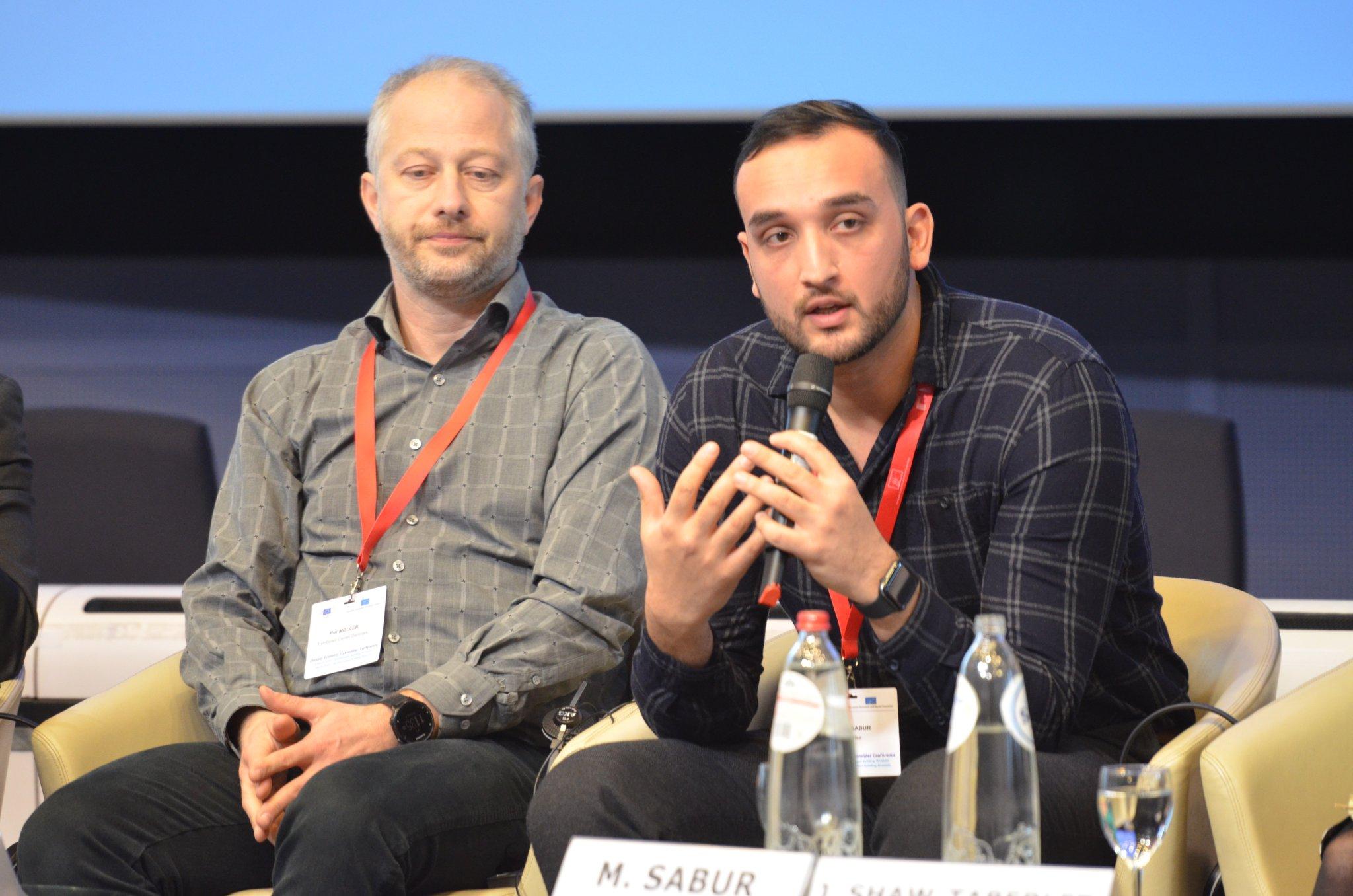 Mesbah Sabur at the Conference