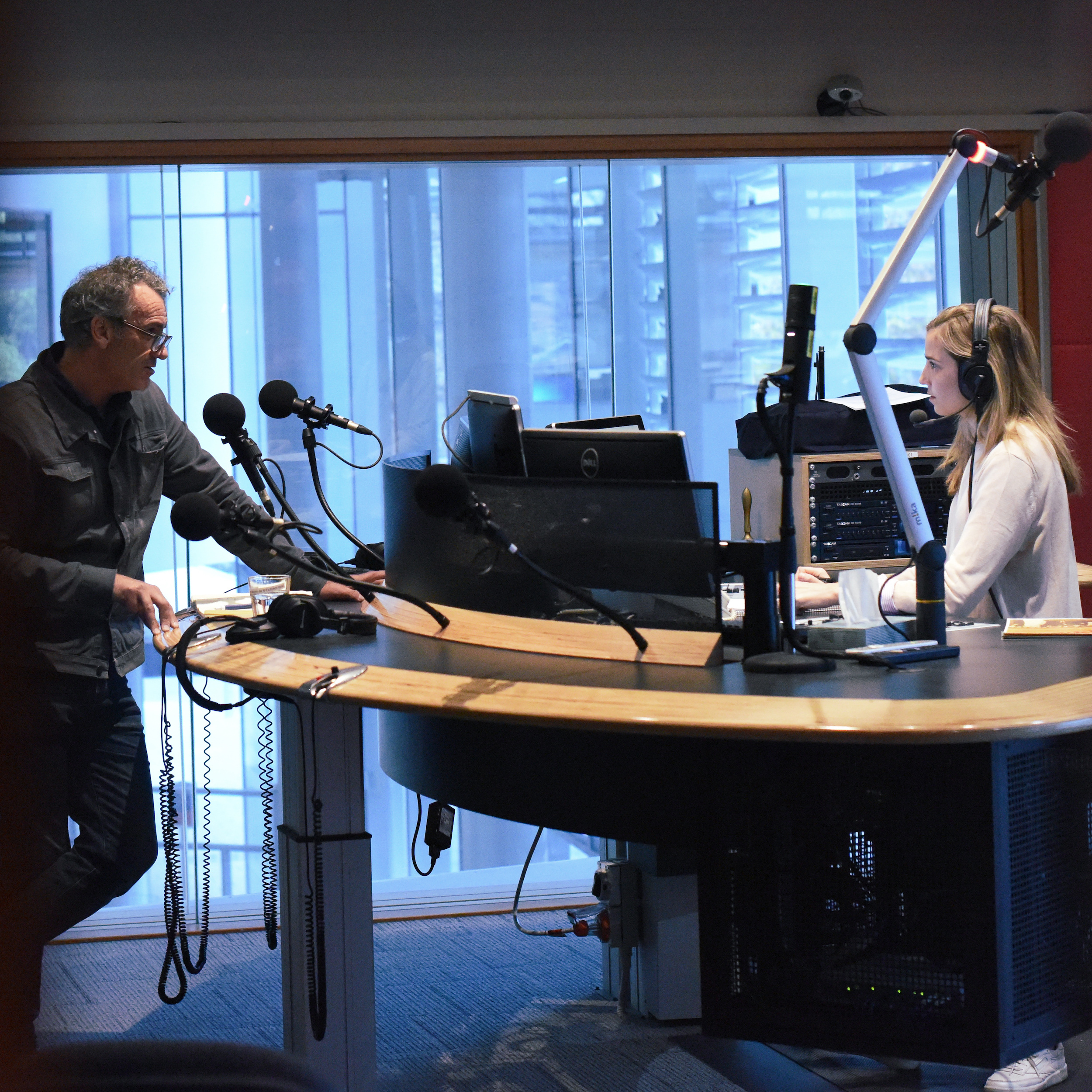 Historian and Filmmaker Steve Kinnane speaking on ABC Perth for the launch of the series.