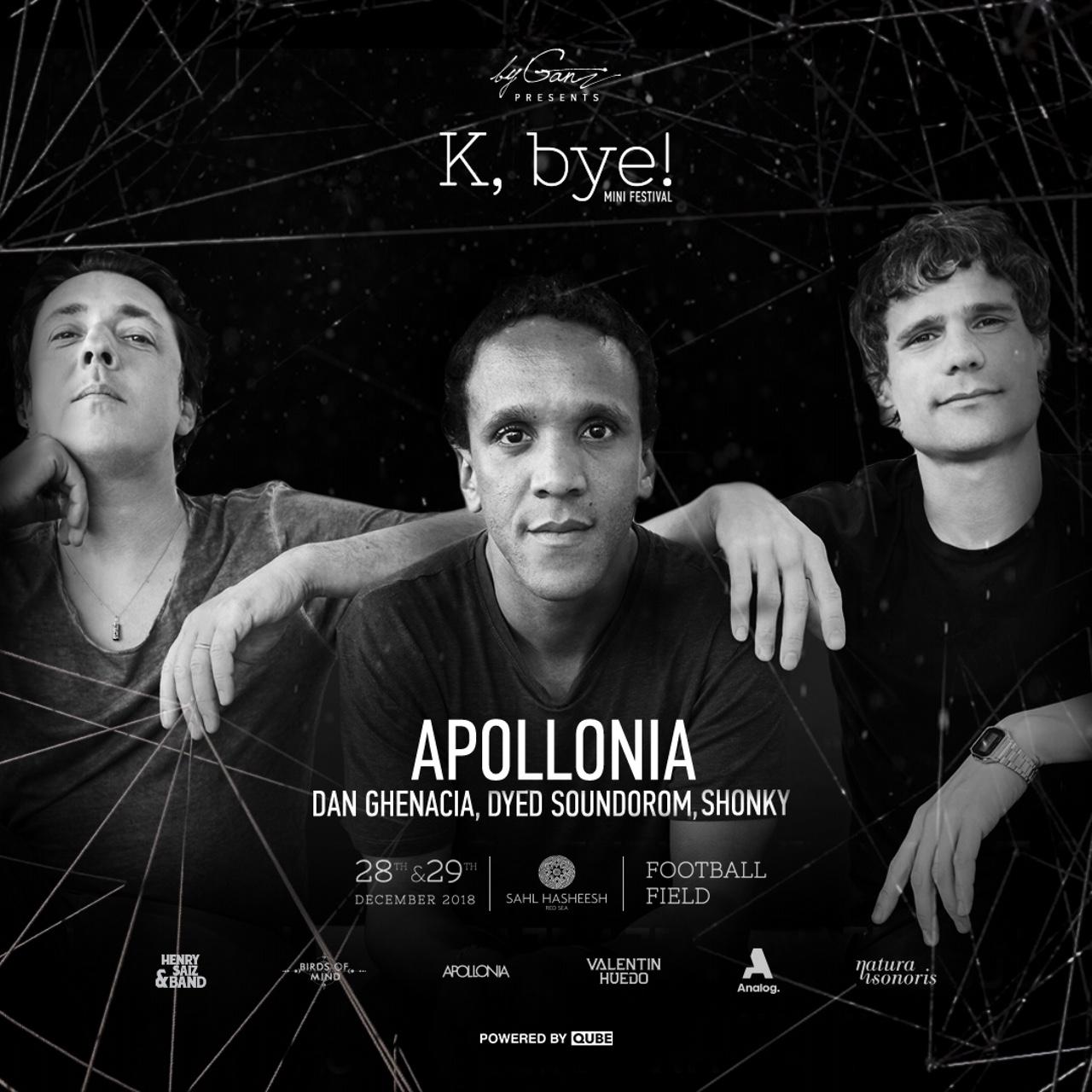 K,bye! Weekend Sahl Hasheesh Egypt Apollonia byganz 2018
