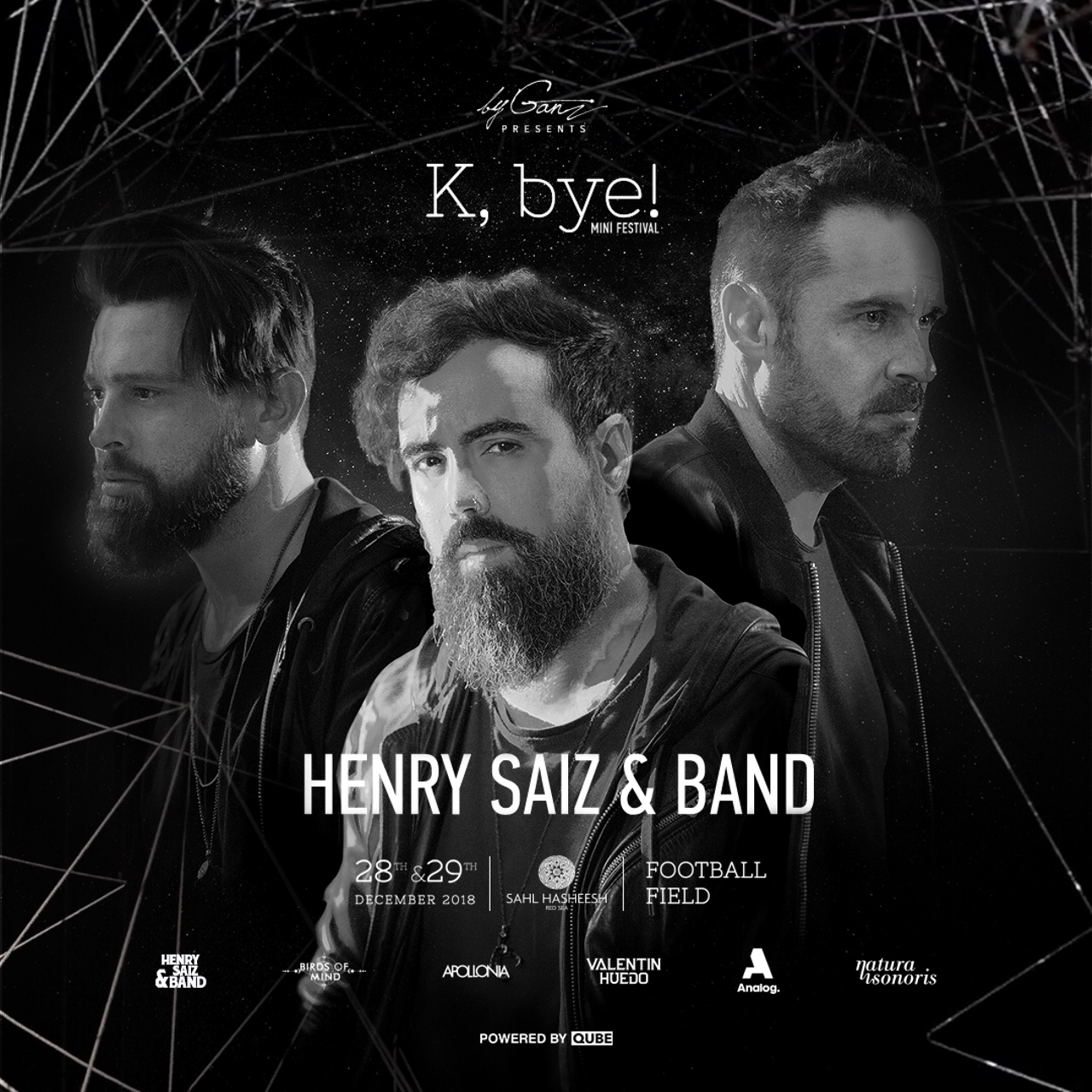 K,bye! Weekend Sahl Hasheesh Egypt Henry Saiz & Band byganz 2018