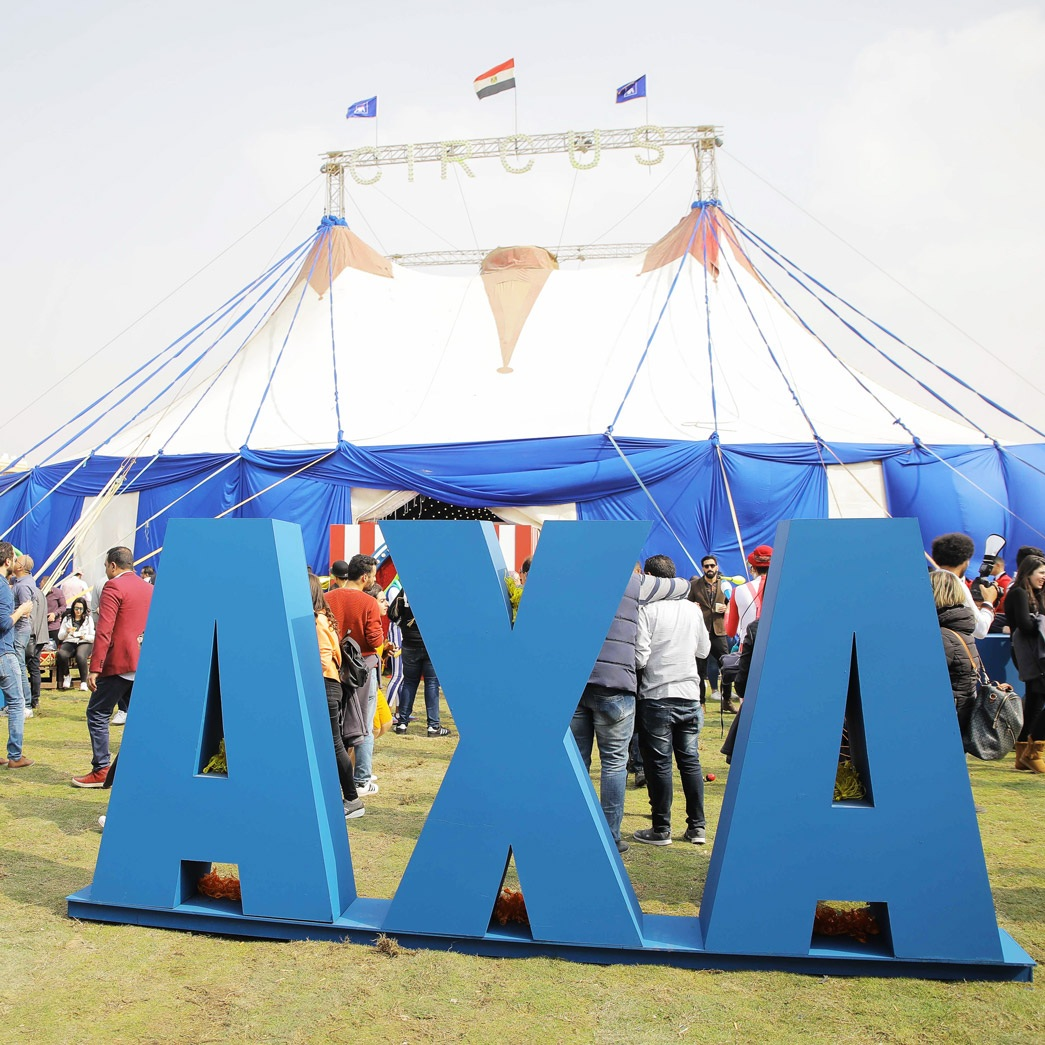 Cirque Axa Annual Success Summit byganz corporate event Cairo Egypt 2019
