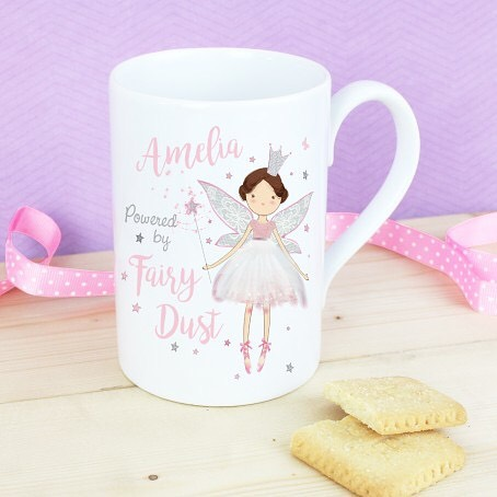 🦄✨Go to our Bio to get link to buy this gorgeous gift idea !! This slim mug can be personalised with 1 line of text of up to 12 characters on the front and 4 lines of text with up to 25 characters per line on the reverse. 🦄✨'Powered by fairy dust' is a fixed part of the design. #fairytail #magical #fairydust #fairymagic