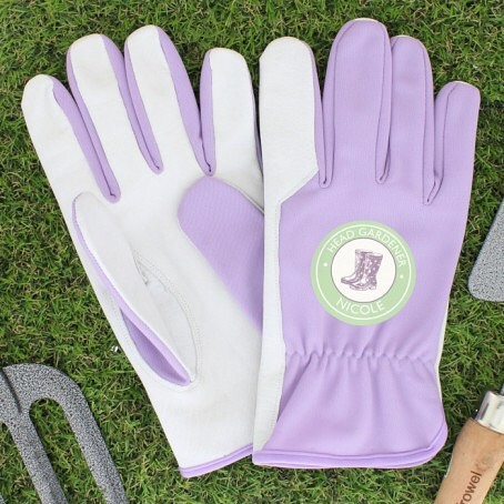 Our Personalised Head Gardener Medium Lilac Gardening Gloves are ideal for any gardening queen! Made from luxuriously soft leather and nylon, they are ideal for light gardening.Go to our Bio to shop these gloves #gardens #gloves #flowers #insideparadisenantwich #cheshire